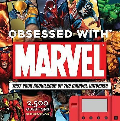 Obsessed With Marvel,Sanderson, Peter,  Good Book