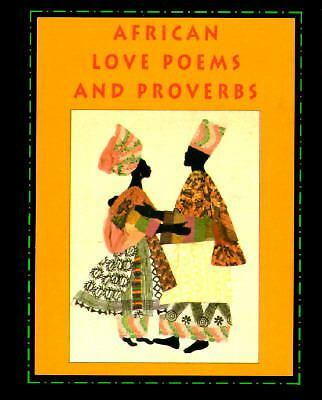 African Love Poems and Proverbs with Bookmark (Petites), Leslau, C. W., Acceptab