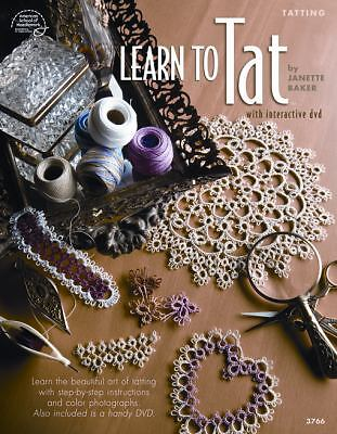 Learn to Tat (Book & DVD) by