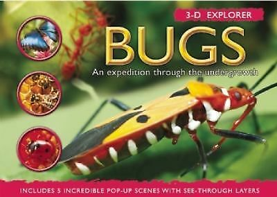 3-D Explorer: Bugs (3D Explorers), , Good Book