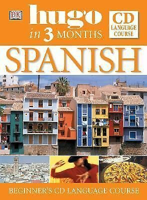 Spanish in Three Months Book and CD (Hugo), Cisneros, Isabel, Good Book