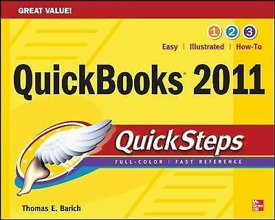 QuickBooks 2011 QuickSteps, Barich, Thomas, Acceptable Book