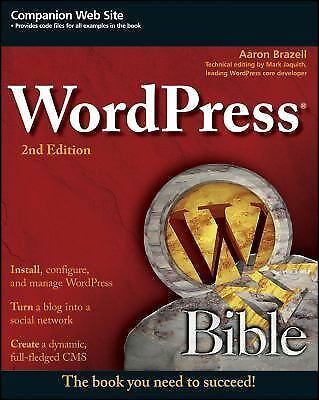 WordPress Bible by Brazell, Aaron