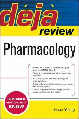 Deja Review Pharmacology by Young,Jason