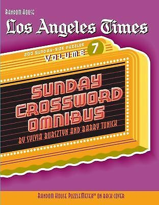 Los Angeles Times Sunday Crossword Omnibus, Volume 7 (The Los Angeles Times) by