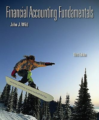 Financial Accounting Fundamentals, Wild, John, Good Book