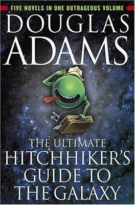The Ultimate Hitchhiker's Guide to the Galaxy, Douglas Adams, Good Book