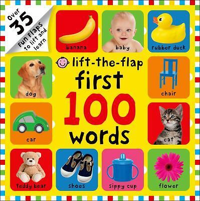 First 100 Words Lift-the-Flap by Priddy, Roger