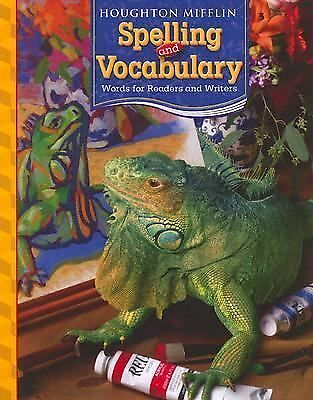 Houghton Mifflin Spelling and Vocabulary: Consumable Student Book Grade 5 2006,