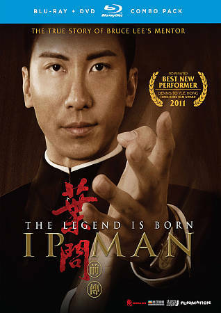 The Legend Is Born: IP Man (Blu-ray Disc, 2011, with Original Slipcover)