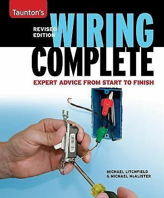 Wiring Complete: Expert Advice from Start to Finish (Taunton's Complete), Litchf