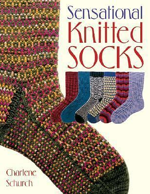Sensational Knitted Socks, Schurch, Charlene, Acceptable Book