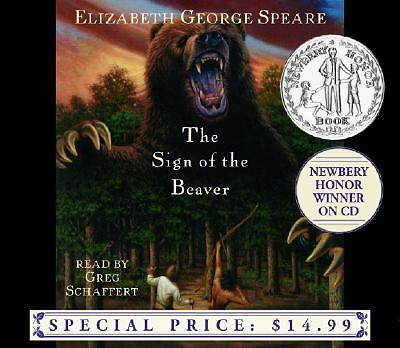 The Sign of the Beaver - Speare, Elizabeth George - Very Good Condition