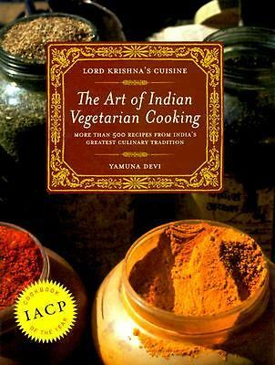 Lord Krishna's Cuisine: The Art of Indian Vegetarian Cooking, Yamuna Devi, Accep