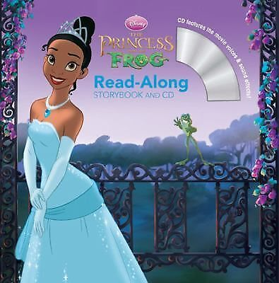 The Princess and the Frog Read-Along Storybook and CD, Disney Book Group, Good B