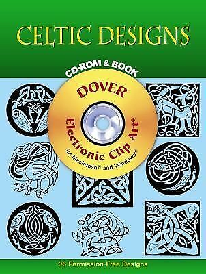 Celtic Designs CD-ROM and Book (Dover Electronic Clip Art) by Dover