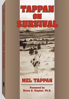 Tappan On Survival, Tappan, Mel, Acceptable Book
