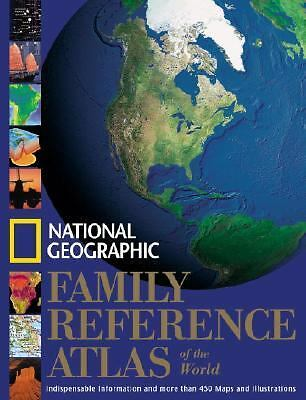 National Geographic Family Reference Atlas of the World, National Geographic Soc
