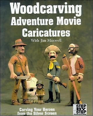 Woodcarving Adventure Movie Caricatures: Carving Your Heroes from the Silver Sc