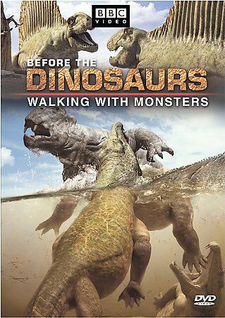 Before the Dinosaurs: Walking With Monsters, Good DVD, Nigel Marven, Kenneth Bra