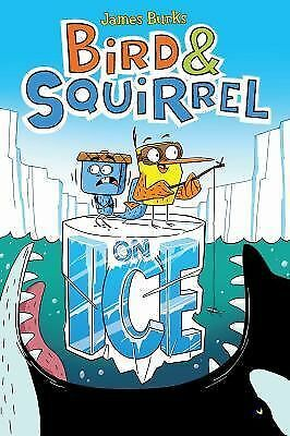 Bird & Squirrel on Ice by Burks, James
