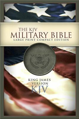 KJV Large Print Compact Military Bible, , Good Book