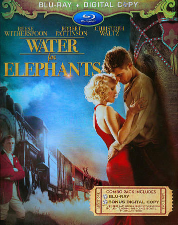 Water for Elephants (Blu-ray Disc, 2011, with Original Slipcover)