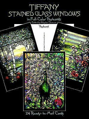 Tiffany Stained Glass Windows: in Full-Color (Post) Cards: 24 Cards (Dover Post