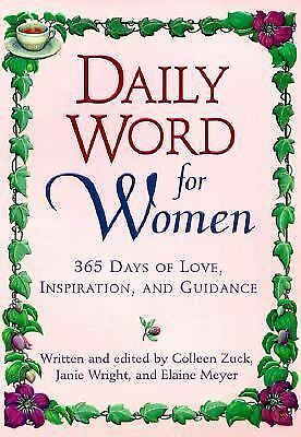 Daily Word for Women: 365 Days of Love, Inspiration, and Guidance,Meyer, Elaine,