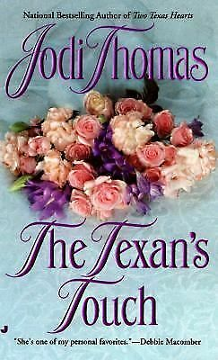 The Texan's Touch (Texas Brothers Trilogy), Jodi Thomas, Good, Books