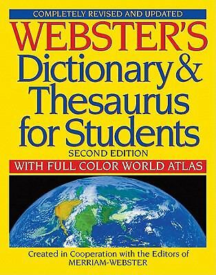 Webster's Dictionary & Thesaurus for Students, Second Edition, Merriam-Webster,