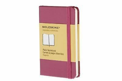 Moleskine Classic Notebook, Extra Small, Plain, Magenta, Hard Cover (2.5 x 4) (C