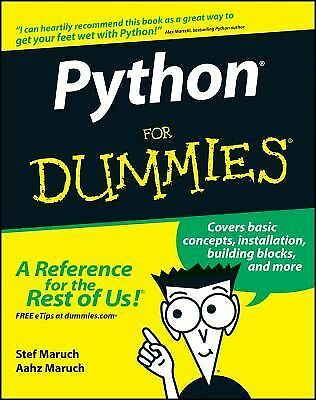 Python For Dummies by Maruch, Stef, Maruch, Aahz