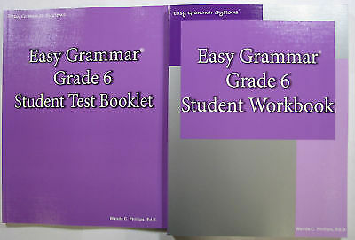 Easy Grammar: Grade 6 Student Workbook