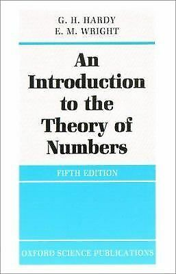 An Introduction to the Theory of Numbers (Oxford Science Publications), G. H. Ha