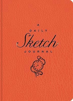 The Daily Sketch Journal (Red), Sterling Publishing Co., Inc., Good Book
