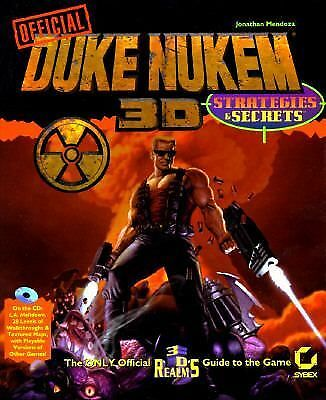 The Official Duke Nukem 3d Strategies & Secrets (Duke Nukem Games), Mendoza, Jon