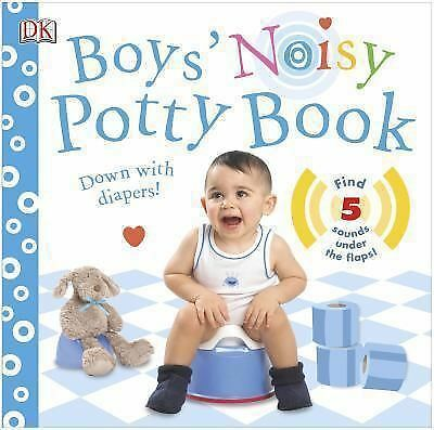 Boys' Noisy Potty Book by DK