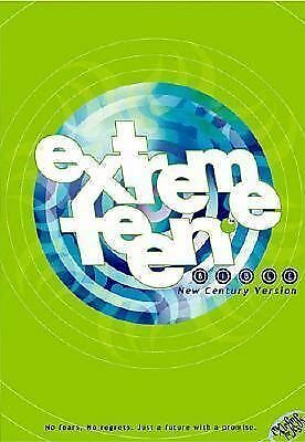 Extreme Teen Bible Just A Future With A Promise, Thomas Nelson, Good, Books