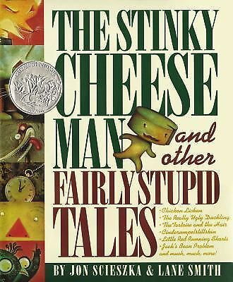 The Stinky Cheese Man and Other Fairly Stupid Tales, Jon Scieszka, Good, Books