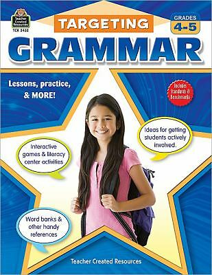 Targeting Grammar Grades 4-5, Teacher Created Resources Staff, Good Book