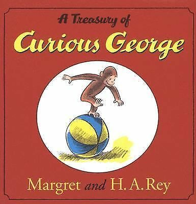 A Treasury of Curious George, H. A. Rey, New Book