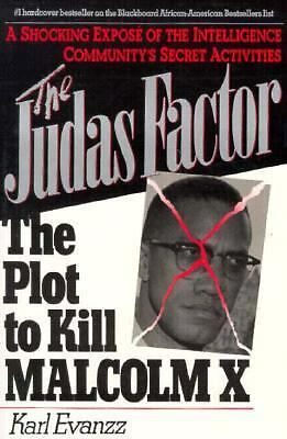 Judas Factor: The Plot to Kill Malcolm X, Karl Evanzz, Acceptable Book