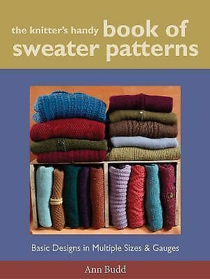 The Knitter's Handy Book of Sweater Patterns, Ann Budd, Good Book