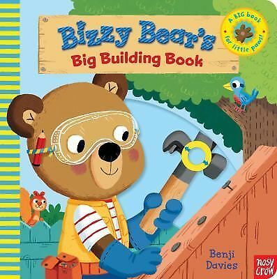 Bizzy Bear's Big Building Book, Nosy Crow, Good Book