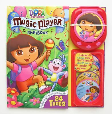 Dora Music Player 10th Anniversary Edition (Music Player Storybook), Nickelodeon