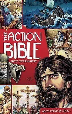 The Action Bible New Testament: God's Redemptive Story (Picture Bible) by