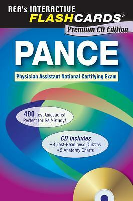 PANCE (Physician Assistant Nat. Cert Exam) Flashcard Book w/CD-ROM (PANCE Test P