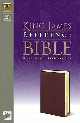King James Version Reference Bible, Giant Print by Zondervan