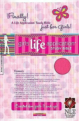 Girls Life Application Study Bible NLT (Kid's Life Application Bible) by